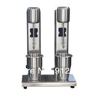 Stainless Steel 2Heads Milkshake Machine, Milk Shaker