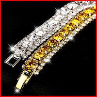 2014 Fashion Crystal Cubic Zirconia Charm Rome Bracelet  Auden Rhinestone CZ Bracelet B9