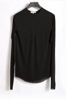 Doma damir black thin material close-fitting long-sleeve tee shirt male