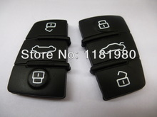 3 Button remote key rubber replacement pad(China (Mainland))