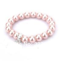 ts new free shipping hot selling hot bracelets  ts factory price tsb0001 Glass bead bracelet
