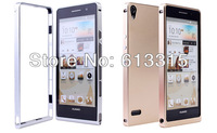 Case for Huawei Ascend P6 100%Aluminium Metal Cover Free shipping mobile phone bags & cases Brand New Arrive 2014 accessories