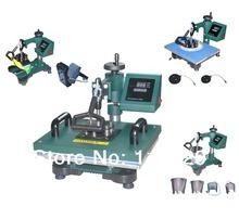New Design 5 IN 1 Sublimation Machine,Digital Tshirt Printing Machine, Heat Press / Heat Transfer,Mug Printer Machine