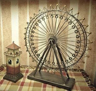 Ferro forjado modelo decoração acessórios para de presente de casamento presente de casamento / home decor artesanato(China (Mainland))