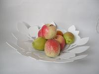 Wrought iron paint fruit plate decoration fruit plate fashion fruit storage basket