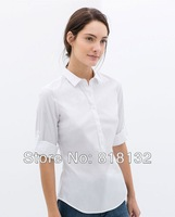 Hot Sale!2014 New Arrival Women Top ,Long Sleeve Slim Women Shirt Free shipping Y0006