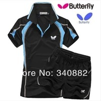 ORIGINAL Butterfly table tennis Jersey clothes for lovers' clothes sportswear short-sleeve ping pong Jersey shirt T-shirt