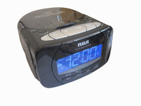 Rca clock cd machine clock radio prenatal machine bedside alarm clock