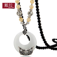 Long necklace female fashion long necklace vintage design gualian decoration - eye fish 175