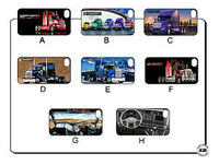 10pc new KENWORTH HEAVY TRUCK Hard Back Cover Case for iPhone 4 4S