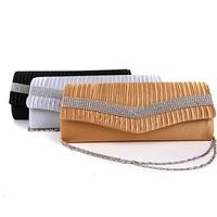 Free Shipping Wholesale women handbag clutch bag wedding bride bridesmaid diamante bagdinner bag KL-046