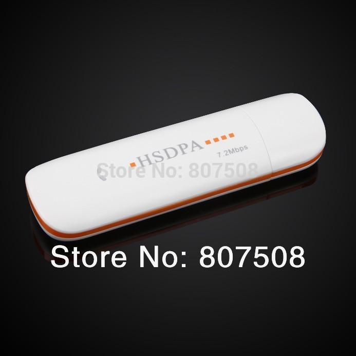 (10pcs/lot) 7.2Mbps HSDPA/HSUPA wireless 3G USB Modem with TF Card Slot 3G USB Dongle Support Android OS(China (Mainland))