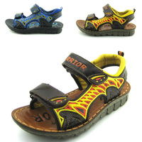 2014 new  summer boys shoes  genuine  leather sandals  childrens kids shoes  beach sport sandales  footwear size 26-37
