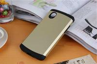 Gold Korean Style Slim Armor SGP Case for LG Nexus 5 Google Nexus 5 N5 E980 D820 D821 Neo Hybird SPIGEN Hard Back Cover YXF03699
