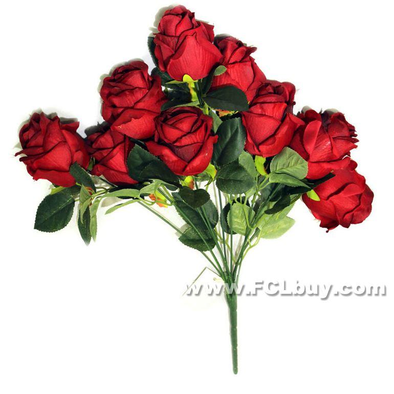 9 Chefes Swan Rosas Pano Artificial flor de plástico tronco Simulação Rose alta Quality37cm(China (Mainland))