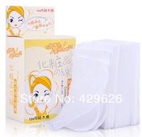 2014 High quality natural comfortable makeup cotton convenient thin remover cotton pad 100 pcs/pack  A0007-100