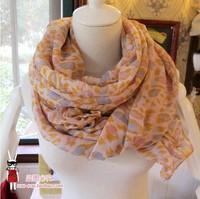 2014 latest leopard scarf shawl cape beach