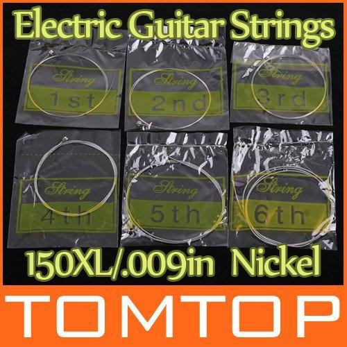 6pcs 150XL/.009in Electric Guitar Amp Strings Set I60(China (Mainland))
