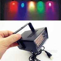 AC 110V -220V  LED Stage Lighting Effect * Bar KTV DJ Disco Stroboscope Lamp+free shipping