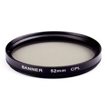 popular 52mm polarizing filter