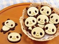 5Pcs/lot Hot Sale Little Panda Shape Sandwich/Sushi Mold Bread Cake Mold Maker DIY Mold Cutter Craft kitchenware Free Shipping