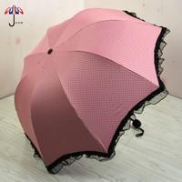 Ode lace princess umbrella folding umbrella sun umbrella super anti-uv umbrella