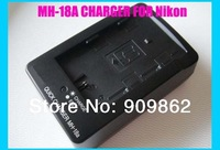 2pcs/lot MH-18A MH18A Camera Battery Charger for Nikon D700,D300S,D300,D200,D100,D90,D80,D70,D70s,D50