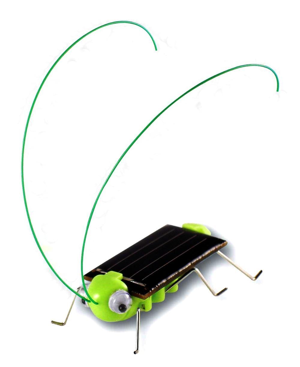 Magic Mini Plastic Solar Energy Powered Grasshopper Toys(China (Mainland))