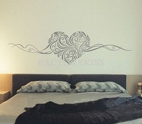 Free Shipping Removable Heart Pattern Wall Sticker Art Vinyl Decal Home Decoration 4 4007-314