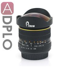 8 milímetros F3.5 Aspherical Fisheye Lens Terno para Canon EOS 1100D 1000D 600D 550D 500D 450D 400D 350D 300D 60D 50D 40D 30D 20D 10D 7D(China (Mainland))