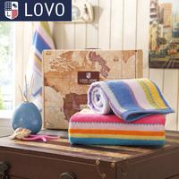 Full lovo 100% cotton towel gift  Home & Garden Home Textile