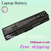 5200mAh laptop battery for Toshiba PA3534U Satellite L200  L300 L300D L305 PA3534U-1BAS PA3534U-1BRS PA3535U-1BRS