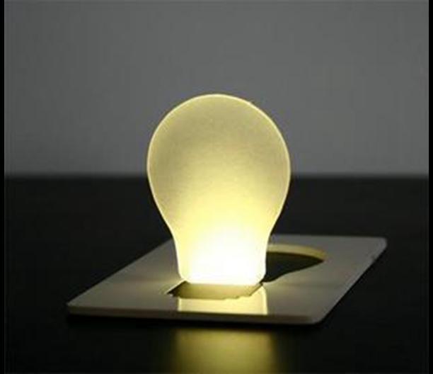 Free shipping! 1200PCS/Lot Mini LED Credit Card Light & Cerative LED Card lamp & Pocket LED Light For Novelty Gift wholesale(China (Mainland))