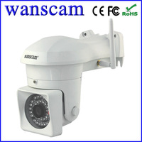 New 720P Megapixel HD IR Cut H.264  Manual Pan/Tilt Wireless Outdoor Night Vision Security System Network IP Camera