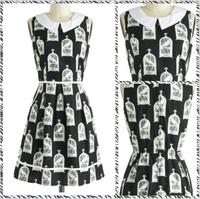 Free shipping 2014 lapel Slim waist dress KA1128