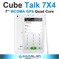 7'' Cube U51GT C4 U51GTC4 Talk 7X 7X4 MTK8382 Quad Core Android 4.2 IPS Phone Call Tablet PC WCDMA GPS Bluetooth FM