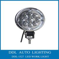 Free Shipping !! 2pcs/lot LED Work Light 12V 27W Cree Led Off road Light For Car Boat  High Lumens