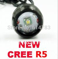 2014 new CREE R5 High power 6W led car Eagle Eye Light DRL Headlamp Rear Back warning decoration light