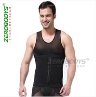 Zerobodys Mens Power Slimming Abdomen vest Body Shaper Sculpting Compression Girdle Belley Buster Shapewear Underwear vest NEW