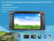 6.2″ Car Dvd Gps Navigation Radio Audio Bluetooth  Vehicle Navigation For KIA LOTZE Euro Star  Sedona Carnival New Pride
