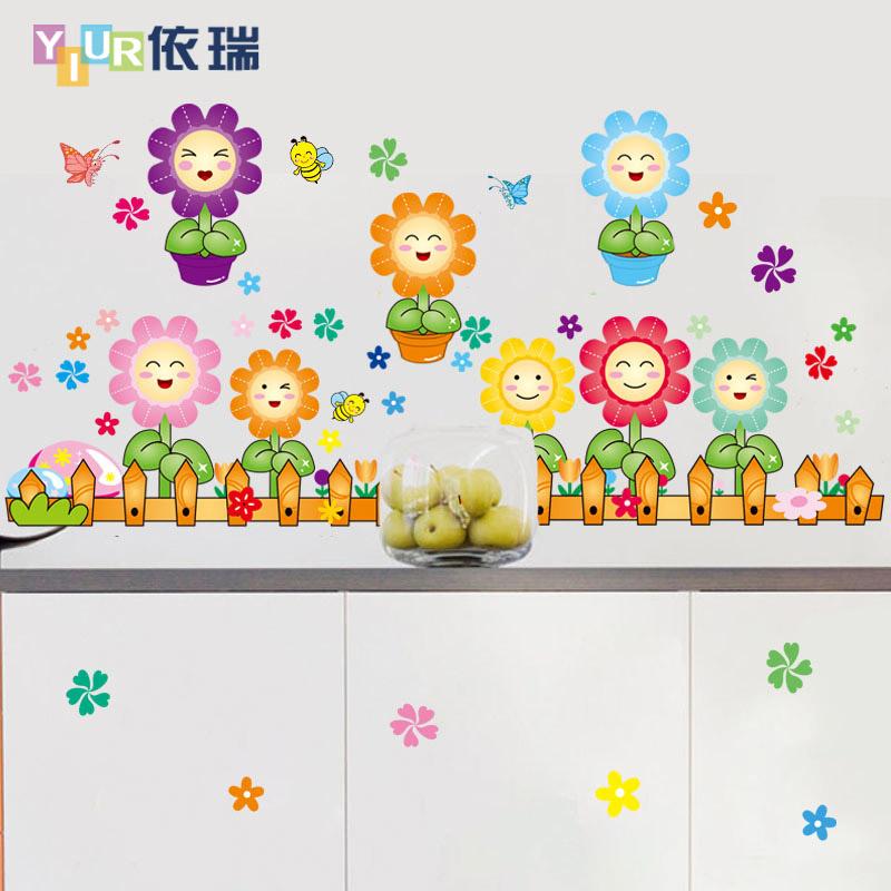 Promoci n de pared pegatinas cabecero compra pared for K g class decoration