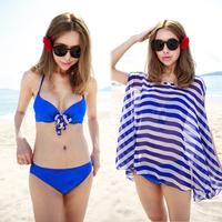 Free shipping 2014 bikinis25 sexy bikini set steel push up swimsuit elegant bathing suit swimwear girls tankini 1385
