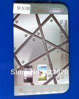 Explosion-proof Premium Tempered Glass Film Screen Protector for Samsung Galaxy note 2 II N7100 retail package