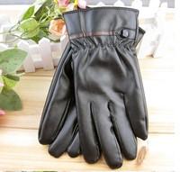 Winter Blending Sheepskin Leather Gloves Fur Cape Glove Men Women Bike MotorCycling (LKST02 ) dropshipping free shipping