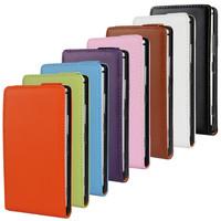 Genuine Flip Leather Case For Nokia Lumia 925 +free shipping