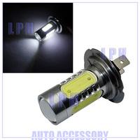 7.5W H7 LED Car Day Driving Fog Light Lamp Bulb Super Bright SMD