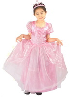 retail girl Aurora sleeping beauty costumes height  2t-9 cosplay  kids performance clothes cartoon dress party clothing