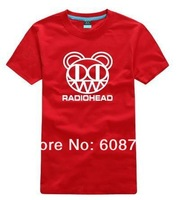 Big size XS-3XL 4XL New summer brand O-neck short-sleeve cotton T-shirt lover Rock band clothing - Radiohead 165