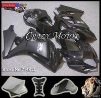 2007 2008 GSXR1000 brilliant black + Matte Black Body Kit Fairing for Suzuki GSXR 1000 2008 2007 GSX R 1000 K7 2007 2008
