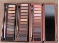 2014 Brand New Eyeshadow Palette 12 Colors Eye Shadow Pallette Nake 1 2 3 Set Makeup Professional wholesale Free Dropshipping